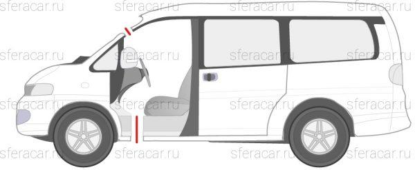 Схема распила микроавтобуса