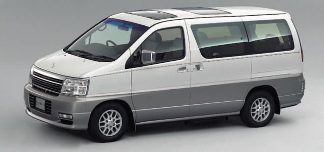 Nissan Elgrand Е50 с аукционов Японии