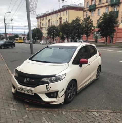 Купленный Honda Fit GP5 2015 1.5 Hybrid