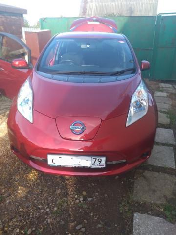 Купленный Nissan Leaf AZE0 2013 X