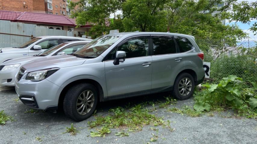 Купленный Subaru Forester SG5 2016