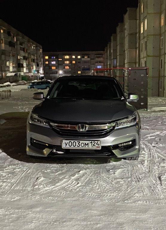 Купленный Honda Accord CR7