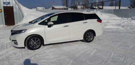 Купленный Honda Shuttle GP7 2017 1.5 Hybrid X